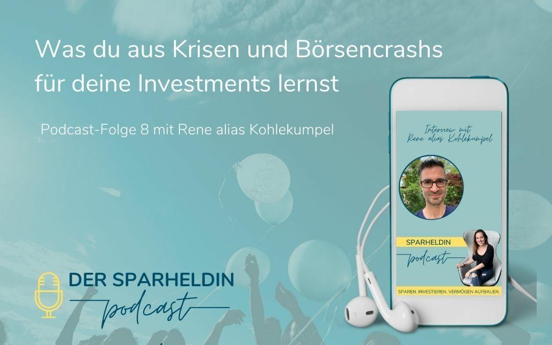 parheldin Podcast - Was du aus Krisen und Börsencrashs für deine Investments lernst